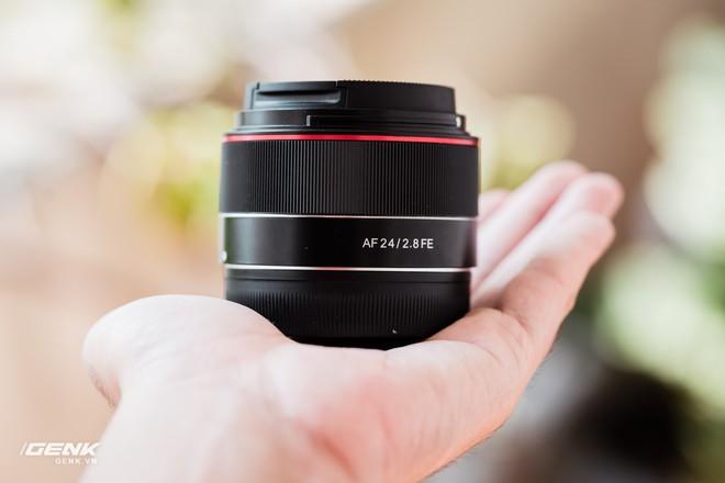 Trải nghiệm Samyang 24mm f/2.8 FE: Ống kính góc rộng giá rẻ, dùng có vui vẻ? - Ảnh 7.