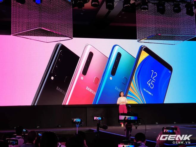 Samsung Galaxy A9 (2018) ra mắt: smartphone đầu tiên trên thế giới có 4 camera sau - Ảnh 4.