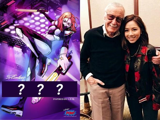Stan Lee hé lộ một nữ siêu anh hùng mới, lấy cảm hứng từ ca sĩ Trung Quốc - Ảnh 2.