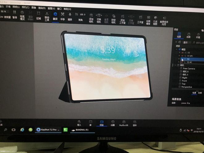 Thiết kế mới của iPad Pro lộ diện trong hình ảnh rò rỉ - Ảnh 1.