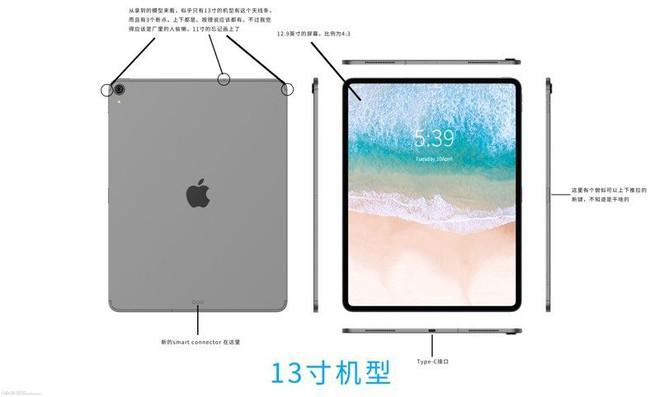 Rò rỉ chiều dày iPad Pro mới chỉ 5,9mm, mỏng nhất từ trước đến nay, không còn jack cắm tai nghe - Ảnh 3.