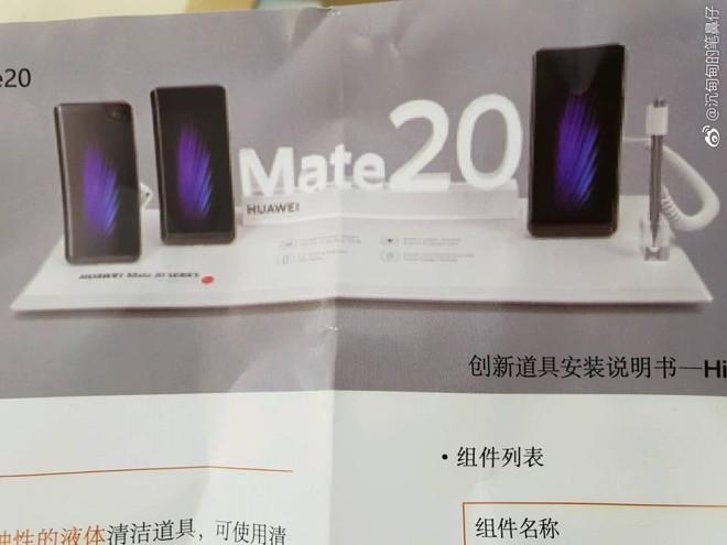 Hình ảnh rò rỉ cho thấy một phiên bản Huawei Mate 20 đặc biệt sẽ hỗ trợ bút stylus giống Note9 - Ảnh 2.