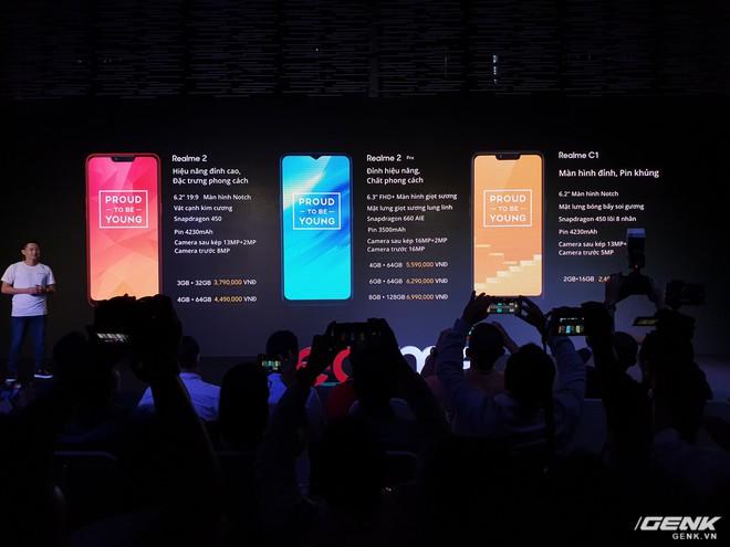 Thêm 1 thánh phá giá vừa đến Việt Nam: Realme tung 3 smartphone cấu hình ngon, camera kép nhưng giá sát ván với Xiaomi - Ảnh 4.