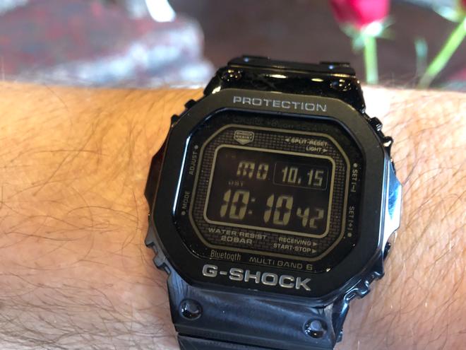 Casio tích hợp kết nối bluetooth vào chiếc đồng hồ G-Shock truyền thống của mình - Ảnh 1.