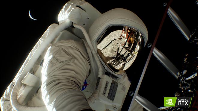 NVIDIA dựng lại toàn bộ cảnh đặt chân lên Mặt Trăng bằng công nghệ mới trên card RTX - Ảnh 3.