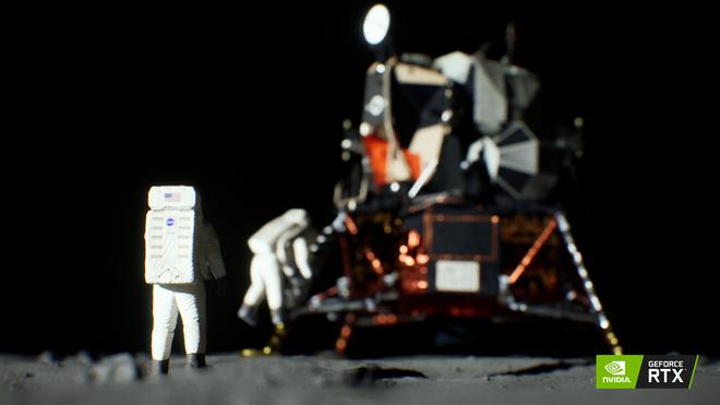NVIDIA dựng lại toàn bộ cảnh đặt chân lên Mặt Trăng bằng công nghệ mới trên card RTX - Ảnh 4.