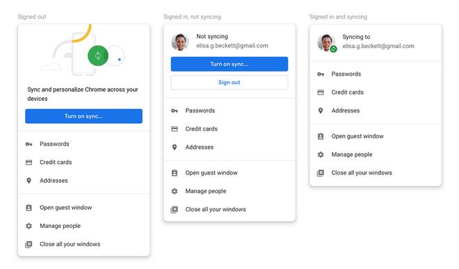 Google phát hành Chrome 70 cho Mac, Windows và Linux: Có tùy chọn check mail hoặc đăng nhập YouTube mà không cần đồng bộ hóa tài khoản Google - Ảnh 2.
