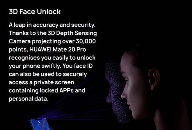 Huawei chính là công ty Android đầu tiên trên thế giới bắt kịp Apple về nhận diện khuôn mặt 3D, chỉ hơi tiếc là... - Ảnh 2.