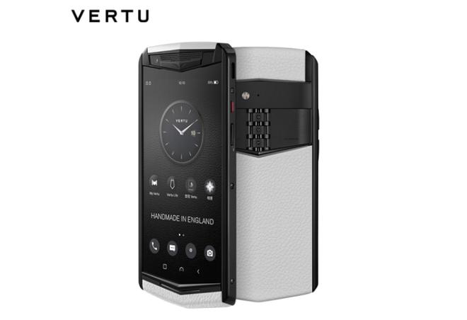 Vertu trình làng smartphone cao cấp Aster P, khung titan, màn hình sapphire, mặt lưng bằng da, Snapdragon 660, giá 5.000 USD - Ảnh 4.