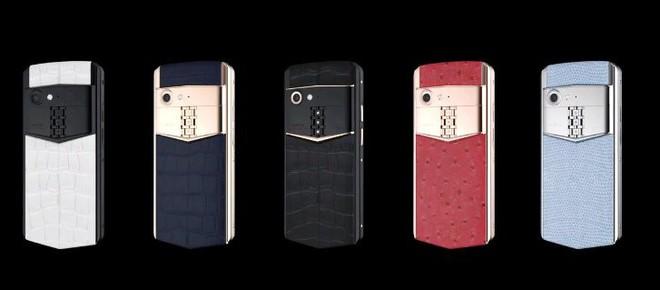 Vertu trình làng smartphone cao cấp Aster P, khung titan, màn hình sapphire, mặt lưng bằng da, Snapdragon 660, giá 5.000 USD - Ảnh 6.
