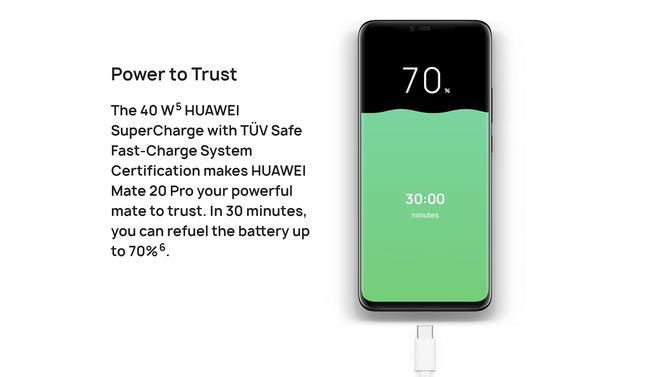 Thử nghiệm thực tế sạc siêu tốc 40W trên Huawei Mate 20 Pro: đầy pin trong 68 phút - Ảnh 2.