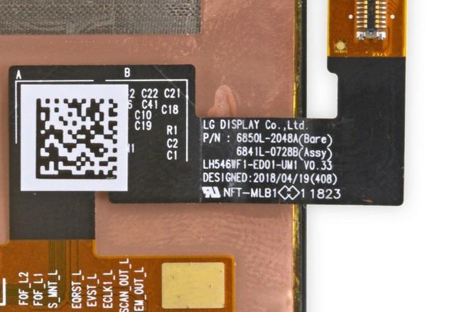 Mổ bụng Google Pixel 3 cho thấy màn hình OLED được sản xuất bởi LG Display, chất lượng không thua kém Samsung - Ảnh 1.