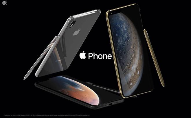 Concept iPhone 2019 với bút cảm ứng, tai thỏ lệch về bên trái và 5 camera - Ảnh 2.