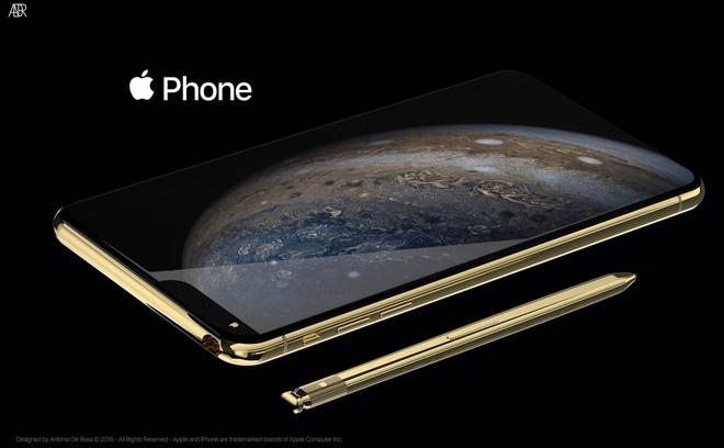 Concept iPhone 2019 với bút cảm ứng, tai thỏ lệch về bên trái và 5 camera - Ảnh 3.