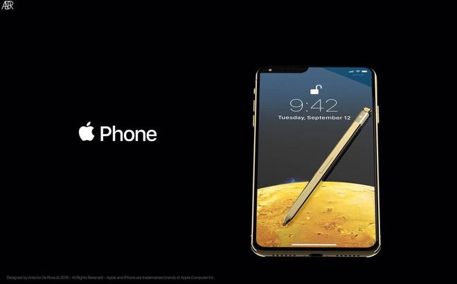 Concept iPhone 2019 với bút cảm ứng, tai thỏ lệch về bên trái và 5 camera - Ảnh 9.