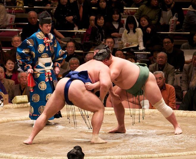Gian nan vất vả đằng sau ánh hào quang của các võ sĩ Sumo - môn võ được kính trọng bậc nhất tại Nhật Bản - Ảnh 1.