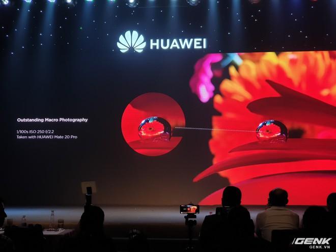 Huawei Mate 20 và Mate 20 Pro chính thức ra mắt tại Việt Nam với mức giá 15,99 và 21,99 triệu đồng - Ảnh 7.