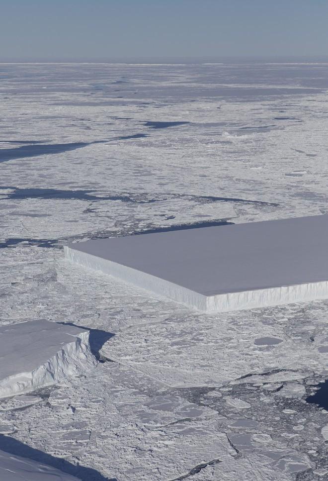 Bằng cách nào mà NASA tìm ra tảng băng vuông chằn chặn thế này hả? - Ảnh 2.