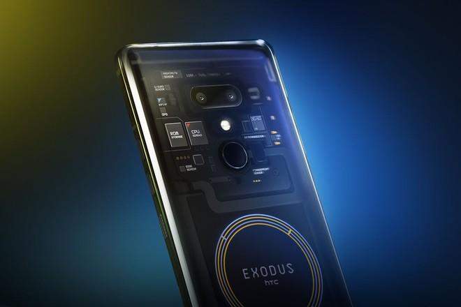HTC đã cho phép đặt trước smartphone blockchain Exodus 1, có giá 0,15 BTC hoặc 4,78 ETH - Ảnh 1.