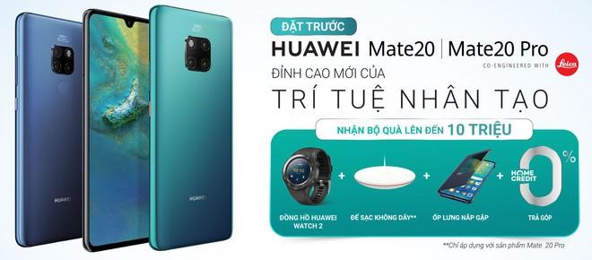 Cuộc chiến khuyến mãi ở phân khúc 20 triệu: Mua Galaxy Note9 tặng TV, mua Huawei Mate 20 tặng đồng hồ 6,5 triệu - Ảnh 3.