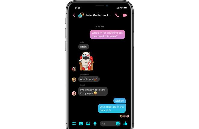 Facebook Messenger được làm lại giao diện, đơn giản và thân thiện hơn - Ảnh 4.