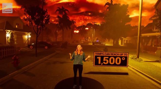 Khi công nghệ thực tế ảo tăng cường (AR) ứng dụng sâu vào các bản tin thời tiết, con người sẽ ngày càng biết sợ thiên tai hơn nữa - Ảnh 3.
