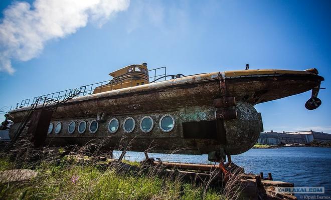 Xót xa số phận chiếc tàu ngầm du lịch đầu tiên của Liên Xô - Ảnh 13.