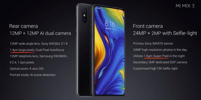 Xiaomi trình làng Mi MIX 3, màn hình chiếm 93,4% mặt trước, thiết kế trượt thủ công bằng nam châm, bản đặc biệt 10 GB RAM giá 16,7 triệu - Ảnh 9.