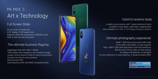 Xiaomi trình làng Mi MIX 3, màn hình chiếm 93,4% mặt trước, thiết kế trượt thủ công bằng nam châm, bản đặc biệt 10 GB RAM giá 16,7 triệu - Ảnh 20.
