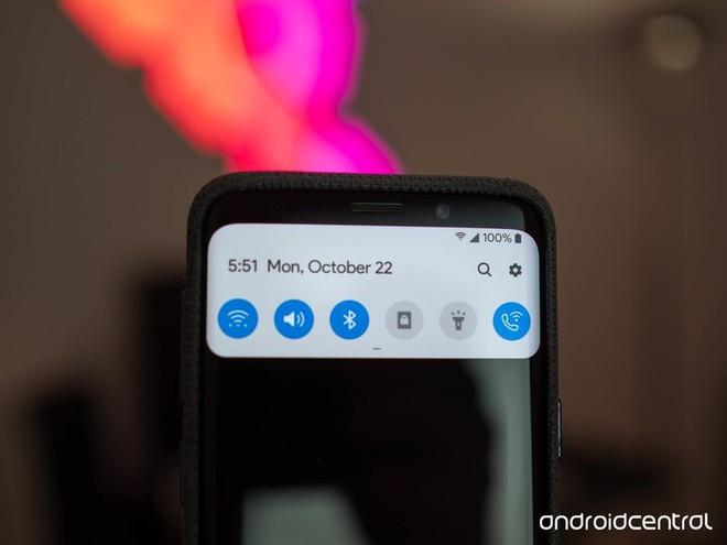 Loạt hình ảnh về Android 9 Pie trên Samsung Galaxy S9+: chỉ có thể nói là đẹp - Ảnh 1.