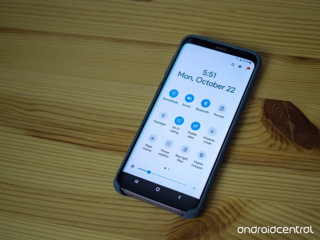 Loạt hình ảnh về Android 9 Pie trên Samsung Galaxy S9+: chỉ có thể nói là đẹp - Ảnh 2.