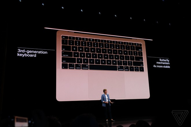 Apple ra mắt MacBook Air mới: Màn hình Retina, cảm biến vân tay Touch ID, 2 cổng USB-C, giá từ 1199 USD - Ảnh 4.