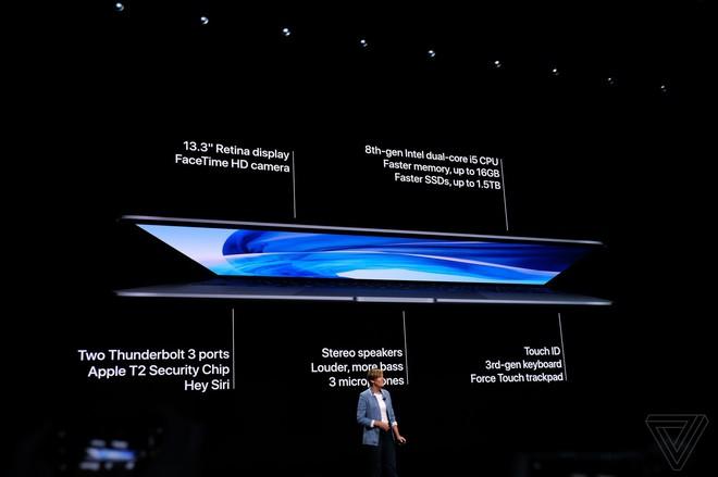 Apple ra mắt MacBook Air mới: Màn hình Retina, cảm biến vân tay Touch ID, 2 cổng USB-C, giá từ 1199 USD - Ảnh 10.