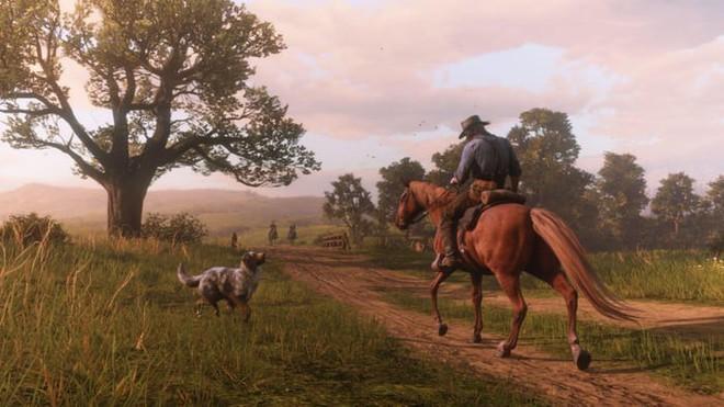 Nếu làm hại một chú chó trong Red Dead Redemption 2, cả làng sẽ trở thành John Wick và truy đuổi bạn - Ảnh 1.