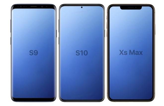 Render mới của Galaxy S10 tiết lộ camera dưới màn hình và nhiều chi tiết thú vị khác - Ảnh 2.