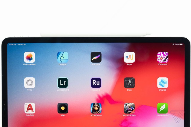 Cận cảnh iPad Pro mới, chiếc tablet có thiết kế toàn màn hình của Apple - Ảnh 2.