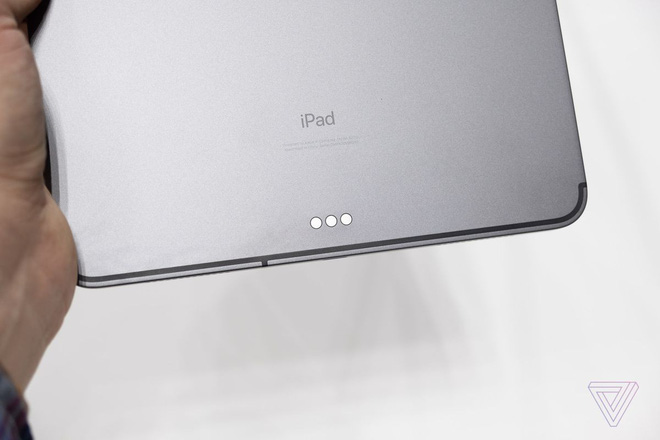 Cận cảnh iPad Pro mới, chiếc tablet có thiết kế toàn màn hình của Apple - Ảnh 11.