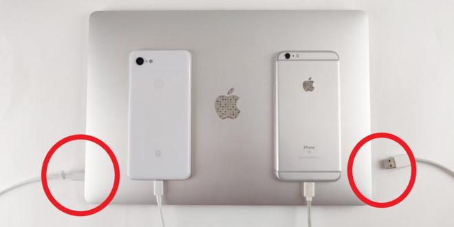 Có thể bạn không nhận ra, nhưng kết nối MacBook mới của Apple với Google Pixel 3 còn dễ hơn là với iPhone - Ảnh 1.