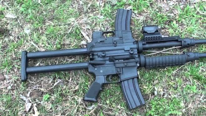 Khám phá khẩu súng độc nhất vô nhị AR-15, làm từ ba khẩu súng ghép lại thành một - Ảnh 5.