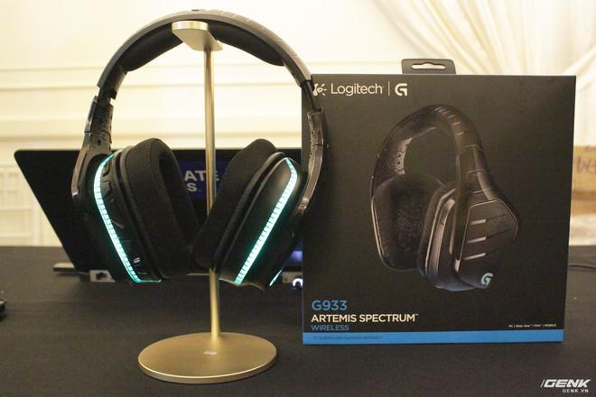 Logitech chính thức ra mắt sạc không dây PowerPlay và tai nghe G933 tại thị trường Việt Nam - Ảnh 1.