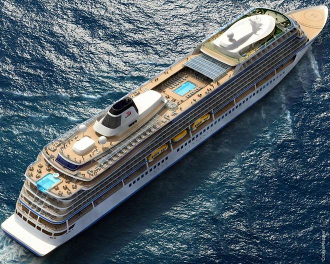 Ngắm nhìn Viking Sun - Siêu du thuyền có hành trình dài nhất thế giới: Ghé thăm 113 cảng tại 59 quốc gia - Ảnh 7.