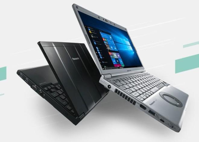 Nhật Bản kỳ lạ: Panasonic ra mắt laptop vẫn có ổ đĩa quang, touchpad hình tròn ngộ nghĩnh - Ảnh 1.