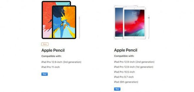 Apple Pencil cũ sẽ không thể sử dụng trên iPad Pro 2018, người dùng bắt buộc phải mua phiên bản mới với giá 130 USD - Ảnh 1.