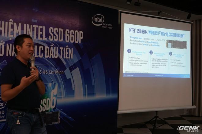 Ổ cứng Intel SSD 660P mới ra mắt tại Việt Nam: dùng chip nhớ NAND QLC, giá chưa tới 3 triệu đồng cho bản 512 GB - Ảnh 4.
