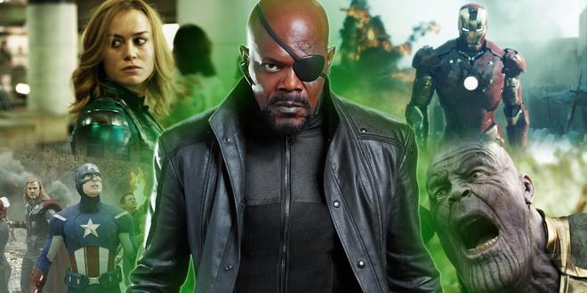 Giả thuyết Avengers 4: Lẽ nào Nick Fury đã biết về tương lai ăn hành của Avengers? - Ảnh 1.