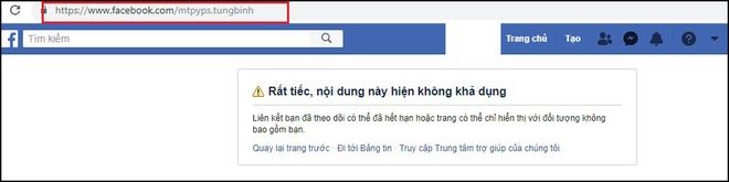 Facebook cá nhân của Sơn Tùng M-TP và một số người nổi tiếng bỗng dưng biến mất hoặc bị khóa - Ảnh 1.