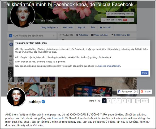 Facebook cá nhân của Sơn Tùng M-TP và một số người nổi tiếng bỗng dưng biến mất hoặc bị khóa - Ảnh 2.