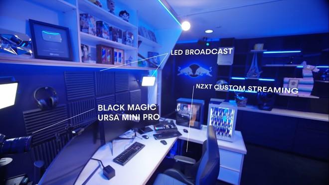 Bên trong studio của streamer nổi tiếng thế giới Ninja, khiến ai cũng mơ ước được ngồi chơi game ở đây một lần - Ảnh 1.
