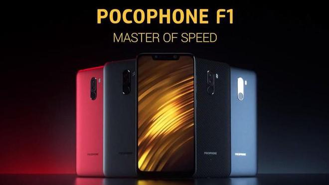 Xiaomi tiếp tục tấn công thẳng vào sân nhà của Samsung và LG bằng Pocophone F1 - Ảnh 1.