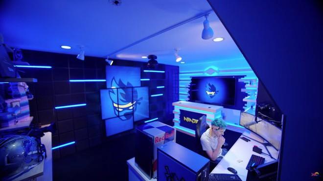Bên trong studio của streamer nổi tiếng thế giới Ninja, khiến ai cũng mơ ước được ngồi chơi game ở đây một lần - Ảnh 2.